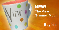 New. The View Summer Mug
