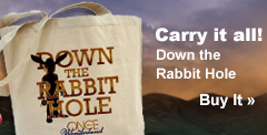 Down the Rabbit Hole Tote