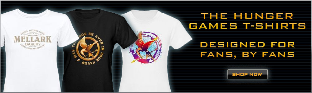 The Hunger Games T-shirts