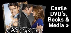 Castle DVD's, Books & Media