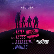 Guardians of the Galaxy Team Silhouette