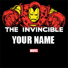 Iron Man Personalized Designs