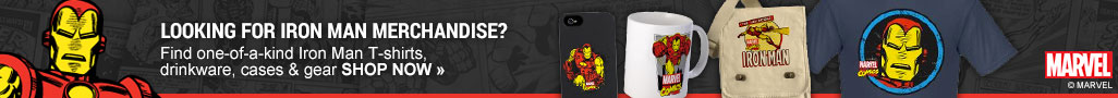 Looking for Classic Iron Man Merchandise?