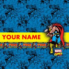 Mavel Comics Thor Personalized