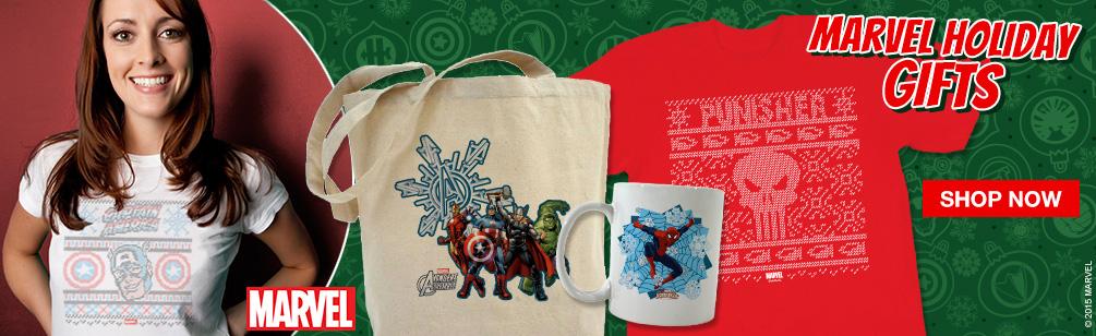 Marvel Holiday Designs