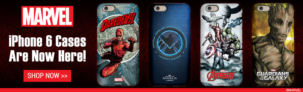 Marvel iPhone 6 Cases