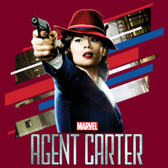 Agent Carter Stripes