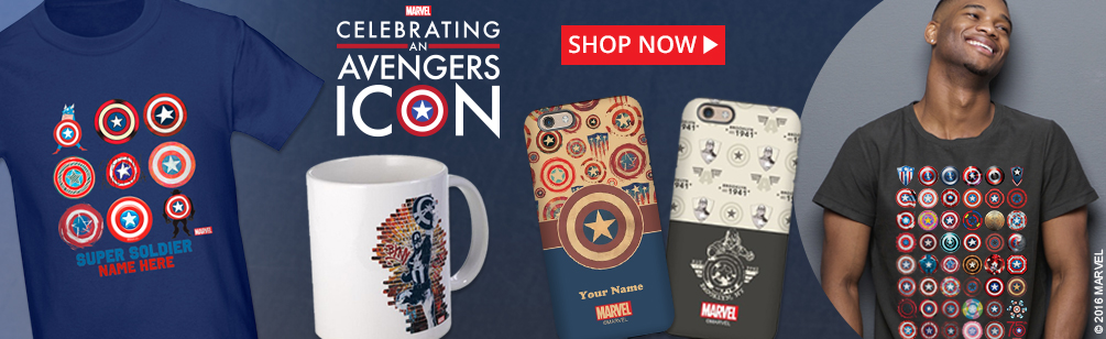 Captain America Anniversary Products