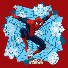 Holiday Spider-Man Web