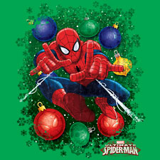 Holiday Spider-Man Ornaments