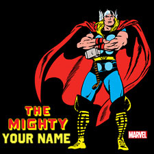 The Mighty Thor Personalized