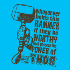 Retro Thor's Hammer