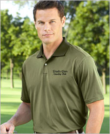 Embroidered Golfwear