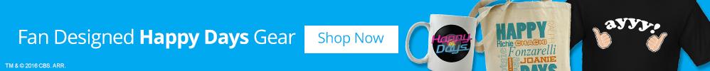 Fan-Designed Happy Days Gear: Shop Now