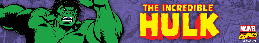 Image of The Hulk  and The Incredible Hulk logo