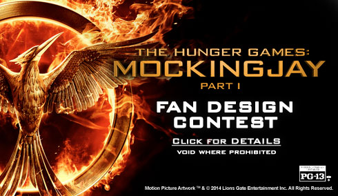Mockingjay Design Contest Banner