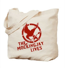 The Mockingjay Lives Tote Bag