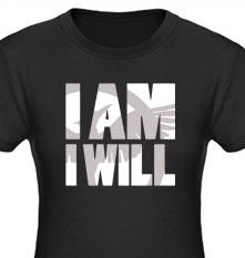 Mockingjay I am I Will T-Shirt