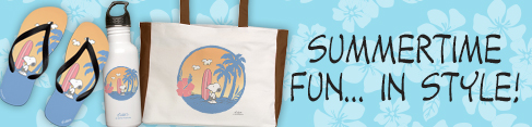 Snoopy Summertime Banner