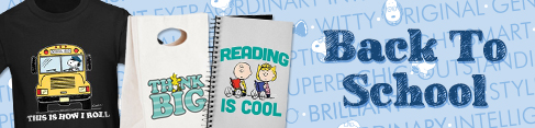 Peanuts Back to School Banner