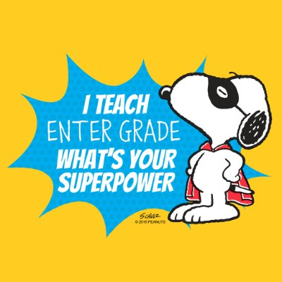 Snoopy - Teacher