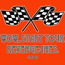 Wow, Start Your Revenge-Ines