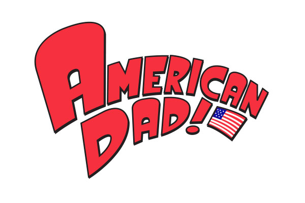 American Dad TV Show Stickers