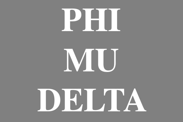 Phi Mu Delta Fraternity Gifts