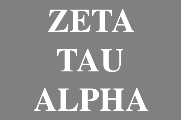 Zeta Tau Alpha  Sorority T-Shirts